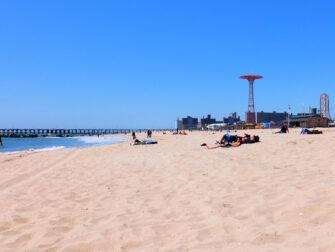 뉴욕 코니아일랜드 - 해변