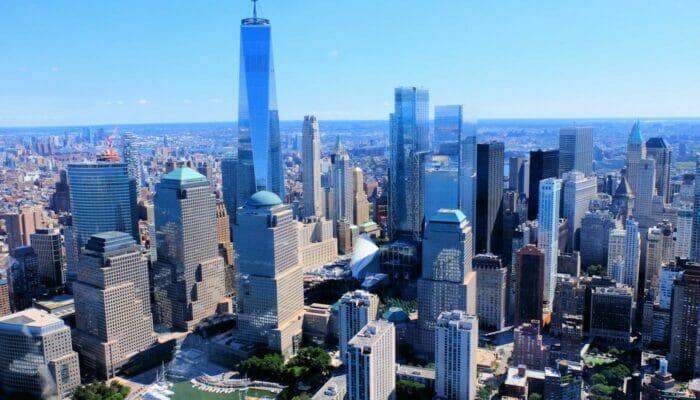 뉴욕 로어 맨해튼 및 금융가 - 인근 뷰