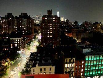 뉴욕 웨스트빌리지 - 야경