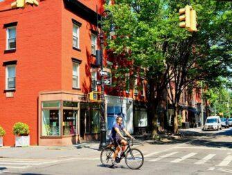 뉴욕 웨스트빌리지 - 페리 스트리트와 블리커 스트리트