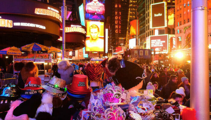 뉴욕 새해 전야 - 타임스퀘어