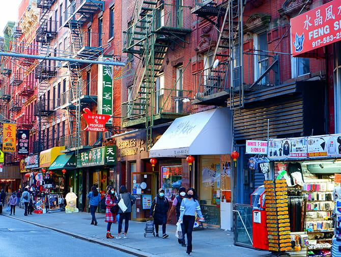뉴욕 차이나타운 - 상점