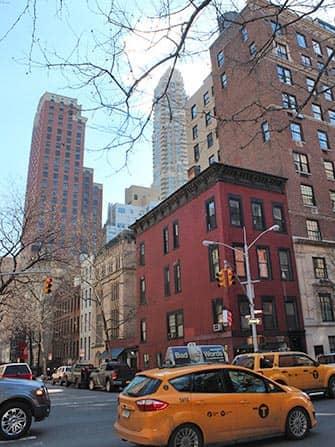 뉴욕 어퍼 이스트 사이드 - 렉싱턴가 택시