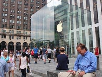 뉴욕주 5번가 애플스토어