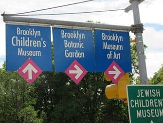 뉴욕 브루클린 - 도로 표지판
