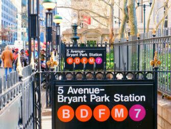 뉴욕의 지하철 - 50번가역