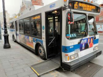 뉴욕 장애인 시설 - 버스