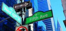 뉴욕 길찾기