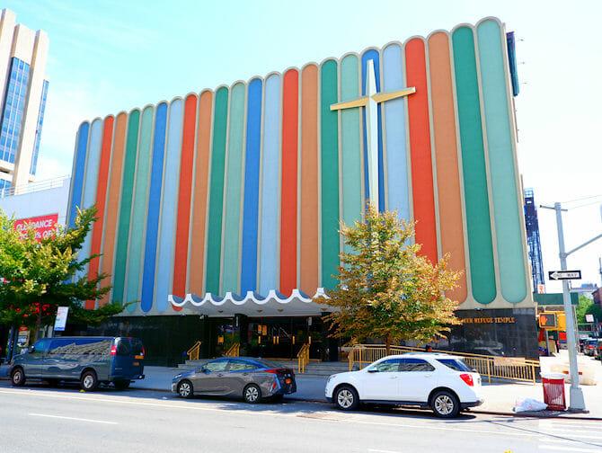 뉴욕 할렘 - 교회