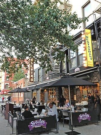 뉴욕 할렘 - 실비아 레스토랑