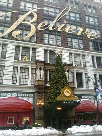 뉴욕 메이시백화점 - 크리스마스 트리