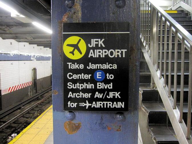 맨해튼에서 JFK 공항까지 교통수단