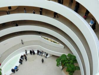 뉴욕 구겐하임 박물관 - 내부
