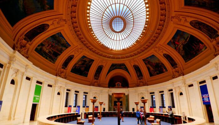 아메리칸 인디언 국립박물관 - 타원형 홀