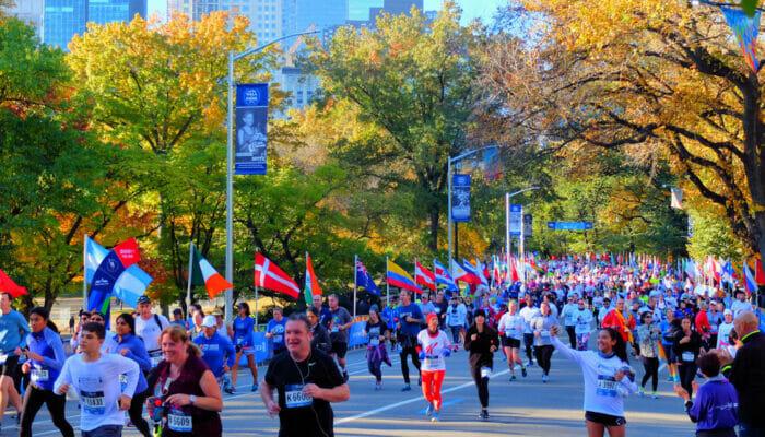 뉴욕 마라톤 - 센트럴파크 러너