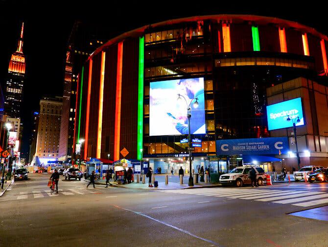 뉴욕 매디슨 스퀘어 가든 - 외관