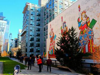 뉴욕 파이라인 파크 벽화
