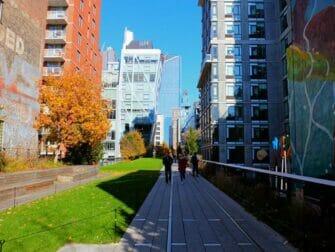 뉴욕 하이라인 파크 - 빌딩숲