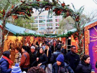 뉴욕 시장 - 유니언 스퀘어 크리스마스 마켓