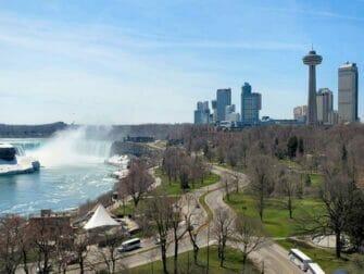 나이아가라 비행기 투어 - 캐나다 부분