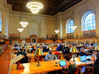 뉴욕 공공도서관 - 열람실