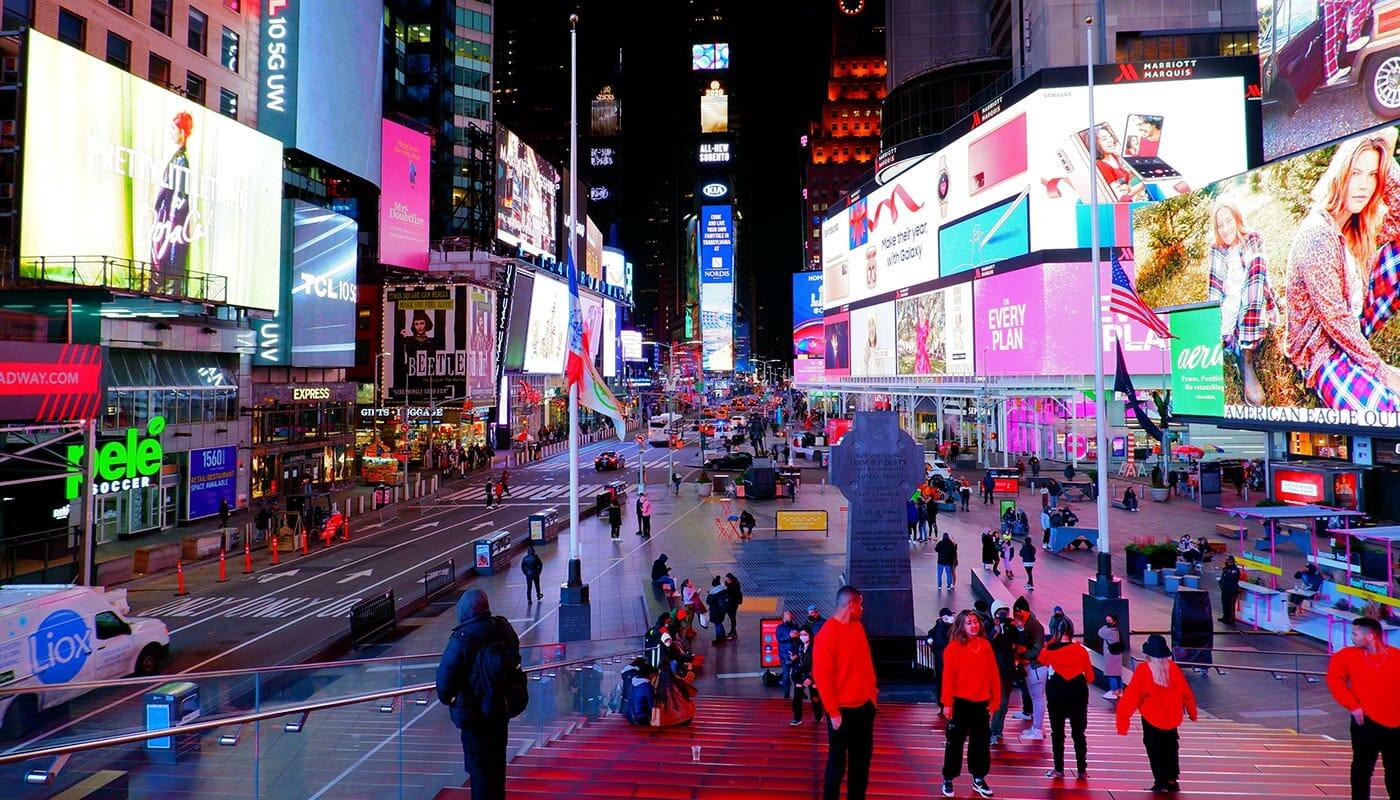 뉴욕 극장가 - 타임스퀘어