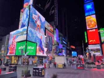 뉴욕 타임스퀘어 - 밤
