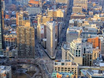 엠파이어 스테이트 빌딩 - 플랫아이언 뷰