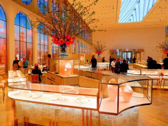 뉴욕 5번가 쇼핑 - 티파니
