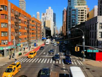 뉴욕 어퍼 이스트 사이드 쇼핑 - 도로
