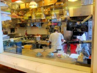 맨해튼 케이크 보스 카페 내부
