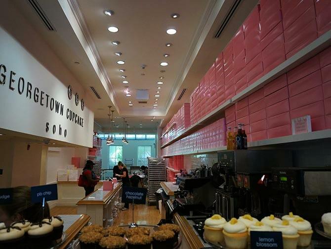 뉴욕 조지타운 컵케이크