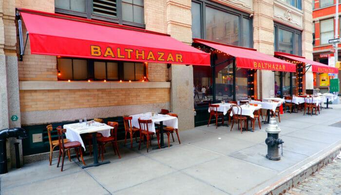 뉴욕의 점심 식사 - 발타자르