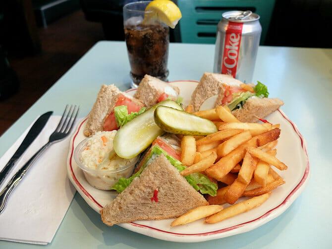 뉴욕의 점심 식사
