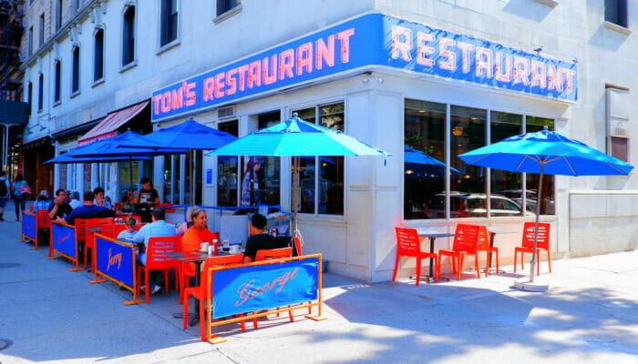 뉴욕의 아침 식사 - 탐스 레스토랑