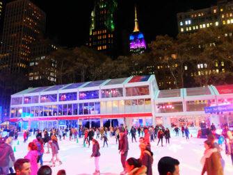 뉴욕의 크리스마스 시즌 - 브라이언트 파크
