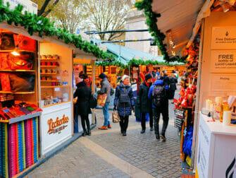뉴욕 시장 - 브라이언트 파크 크리스마스 마켓