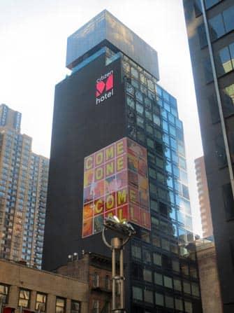 시티즌M 호텔 - 건물