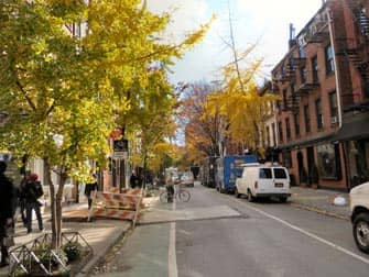 뉴욕 그리니치 빌리지 - 블리커 스트리트