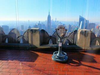 뉴욕의 새해 - 일몰의 탑 오브 더 락