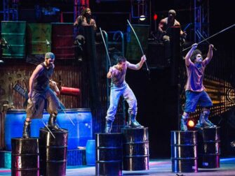 STOMP in New York Tickets Walkers