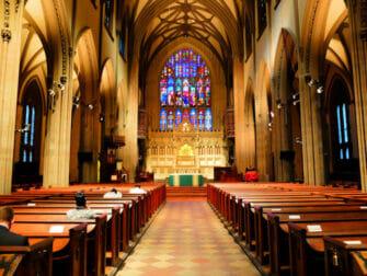 뉴욕 로어 맨해튼 및 금융가 - 트리니티 교회