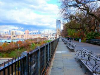 브루클린 투어 - 브루클린 하이츠 산책로