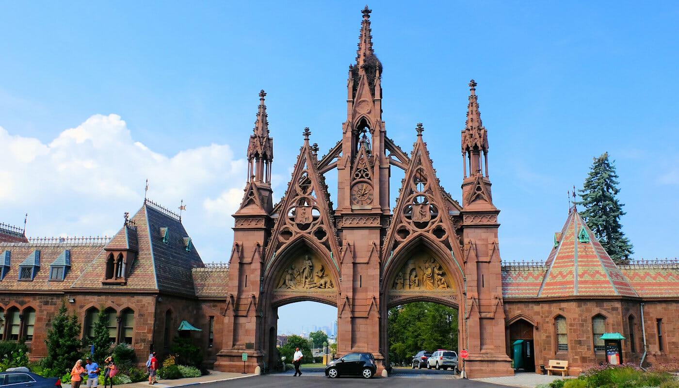 브루클린 투어 - 그린우드 공동묘지 입구