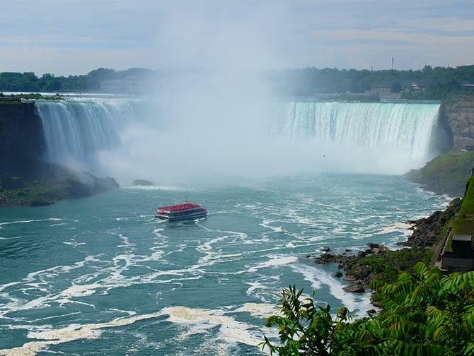 New York to Niagara Falls by Plane Day Trip
