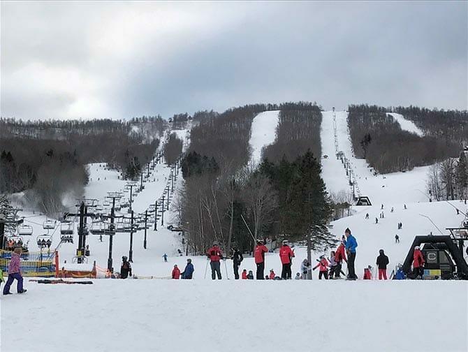 뉴욕 스키 및 스노보드 당일 여행