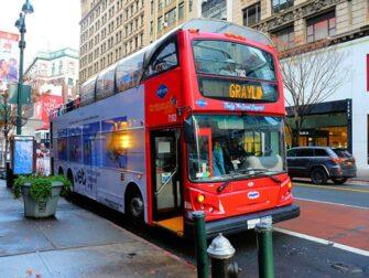 뉴욕시 버스 투어 - 그레이라인 버스