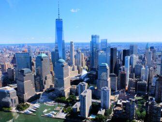 뉴욕 헬리콥터 투어 노선 - 맨해튼 스카이라인