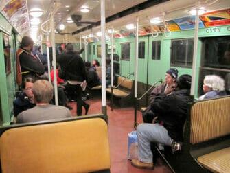 뉴욕 빈티지 트레인 - 열차 내부