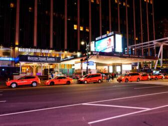 뉴욕 매디슨 스퀘어 가든 - 간판